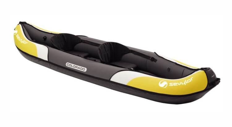 Migliori kayak e canoe gonfiabili: Kayak gonfiabile Colorado di Sevylor