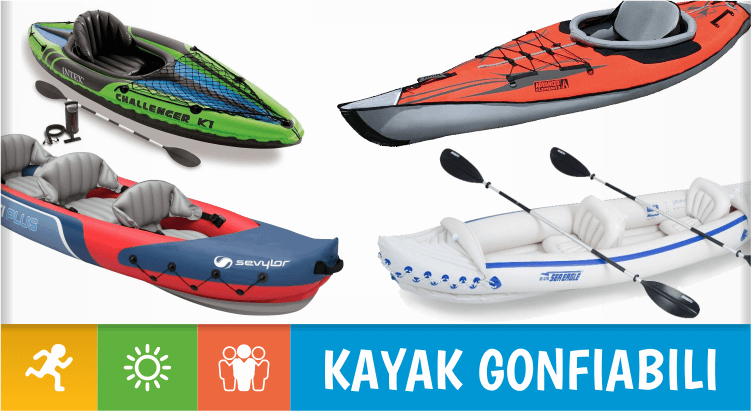 Kayak e canoe gonfiabili: i migliori 10 in circolazione, per un'estate ricca di avventura