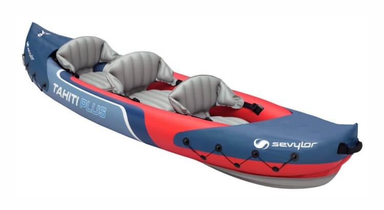Migliori kayak e canoe gonfiabili: Kayak Tahiti Plus (2 + 1 Posti) di Sevylor