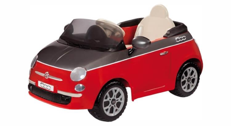 Macchine elettriche per bambini: Fiat 500 (con radiocomando) di Peg Perego