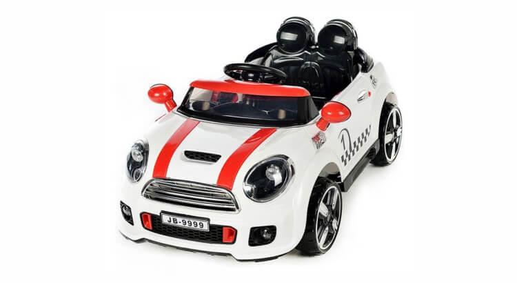 Macchine elettriche per bambini: Mini Cooper Rally (con radiocomando) di Colibrì Fun