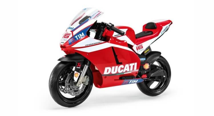 Moto elettriche per bambini: Ducati GP 2014 di Peg Perego