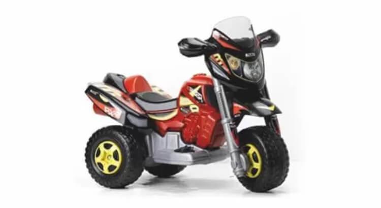 Moto elettriche per bambini: Trimoto Red-Racer di Famosa