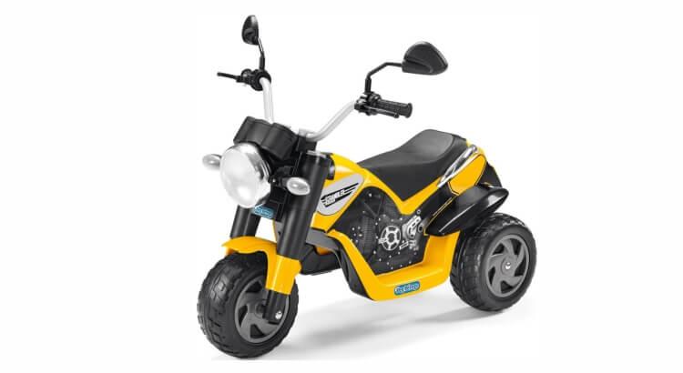 Moto elettriche per bambini: Scrambler Ducati di Peg Perego