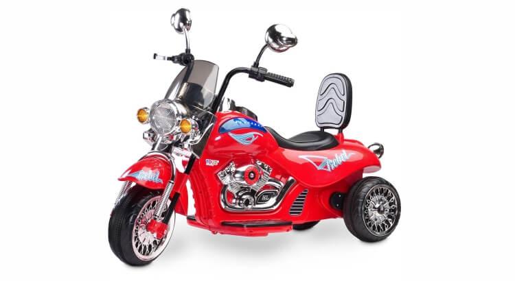 Moto elettriche per bambini: Moto a tre ruote Toyz Rebel di Caretero