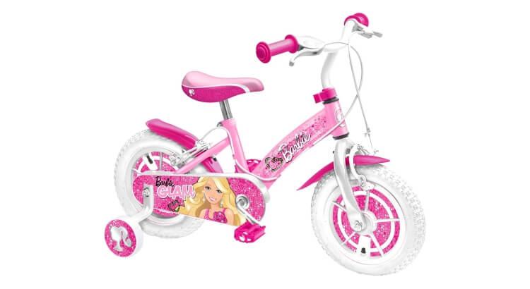 Migliori biciclette per bimbe di 2-4 anni: Bicicletta 12'' Barbie di Stamp