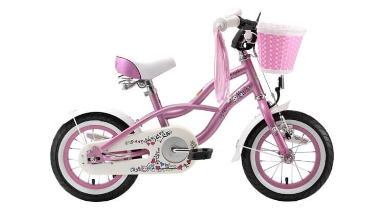Migliori biciclette per bimbe di 2-4 anni: Bicicletta 12'' Deluxe Cruiser di BIKESTAR®