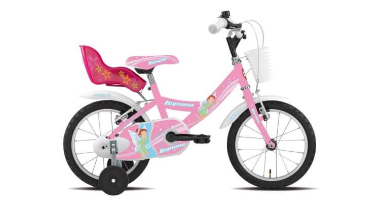# 1 Bicicletta 14'' Fatina 1v rosa di Legnano