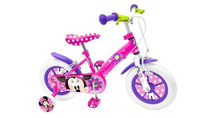 Migliori biciclette per bimbe di 2-4 anni: Bicicletta 12'' Minnie di Stamp
