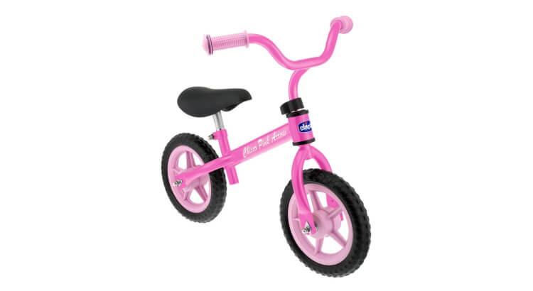 Migliori biciclette per bimbe di 2-4 anni: Prima Bicicletta Balance Bike Pink Arrow di Chicco