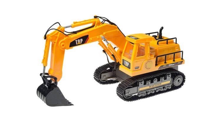 Migliori escavatori radiocomandati: Escavatore radiocomandato TR-111 di Top Race®