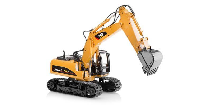 Migliori escavatori radiocomandati: Macchina scavatrice con telecomando 15 canali TR-211 di Top Race®