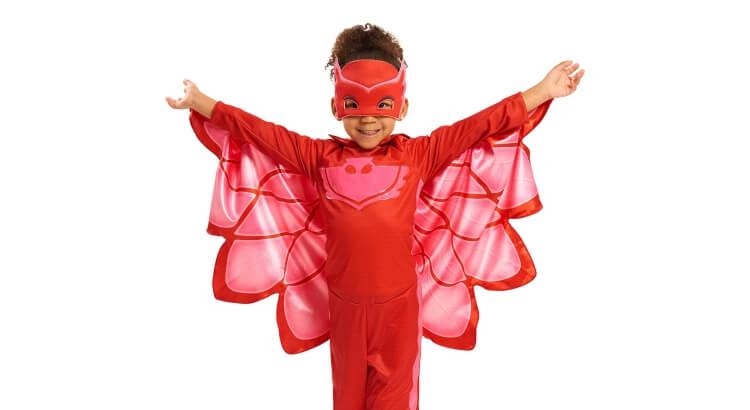 Migliori giochi e giocattoli PJ Masks: Costume completo di Gufetta