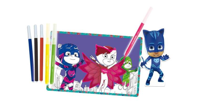 Migliori giochi e giocattoli PJ Masks: PJ Masks Scuola di Disegno con Pennarelli Fluo di Lisciani