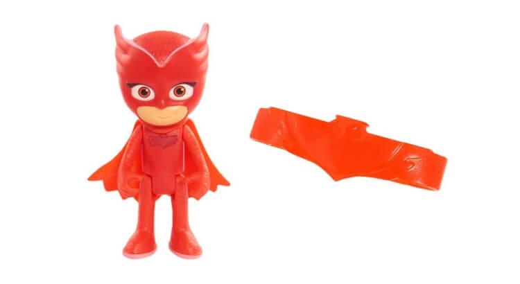 Migliori giochi e giocattoli PJ Masks: Gufetta, personaggio luminoso + bracciale di Giochi Preziosi