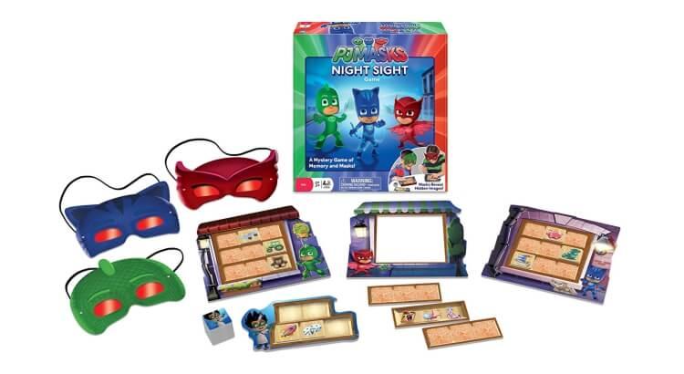 Migliori giochi e giocattoli PJ Masks: Gioco di memoria PJ Masks Night Sight di Wonder Forge