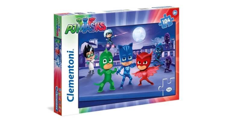 Migliori giochi e giocattoli PJ Masks: PJ Masks Puzzle da 104 pezzi di Clementoni