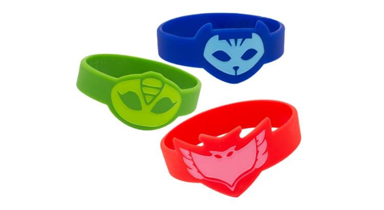 Migliori giochi e giocattoli PJ Masks: Set di bracciali di gomma PJ Masks