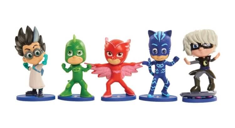 Migliori giochi e giocattoli PJ Masks: Set Deluxe di 5 figurine fisse