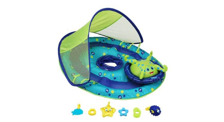 Migliori gonfiabili acquatici per mare e piscina: Baby Spring Float Activity Centre di Swimways