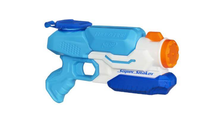 Migliori pistole ad acqua: Nerf Super Soaker Freeze Fire di Hasbro