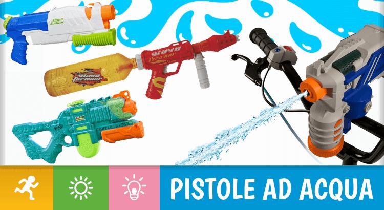 Le 11 migliori pistole ad acqua per rinfrescanti battaglie all'ultimo spruzzo