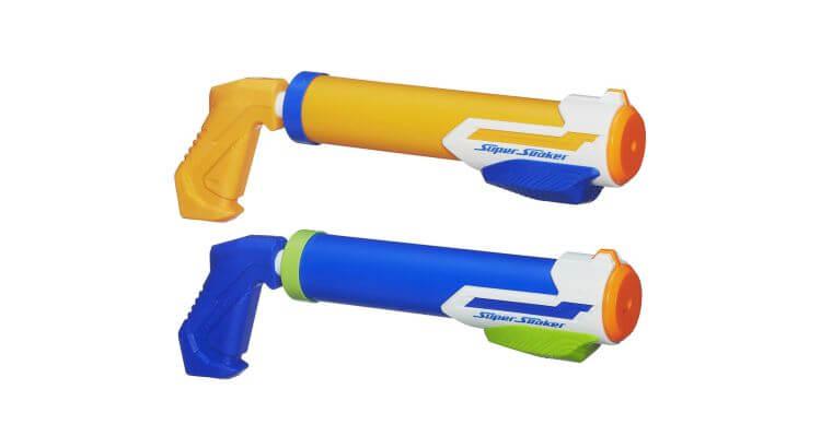 Migliori pistole ad acqua: Nerf Super Soaker Tidal Tube Blaster 2-Pack di Hasbro