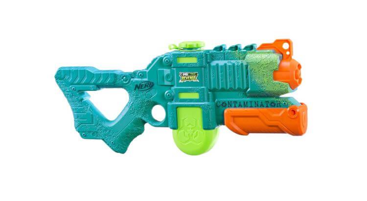 Migliori pistole ad acqua: Nerf Super Soaker Zombie Strike Revenge Contaminator di Hasbro
