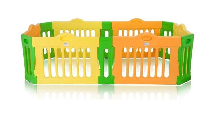 Migliori recinti e box per bambini: Box rettangolare modulabile di BABY VIVO