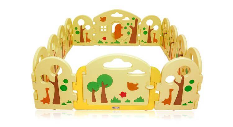 Migliori recinti e box per bambini: Box per bambini Forest di BABY VIVO