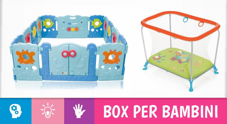 14 box e recinti per creare una zona giochi sicura per i nostri bambini