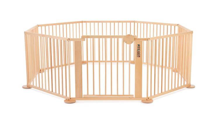 Migliori recinti e box per bambini: Recinto per bambini in faggio Strolch 1plus7 di Felibaby