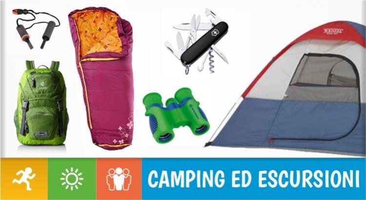 10 idee regalo per bambini e ragazzi che amano il campeggio e le escursioni