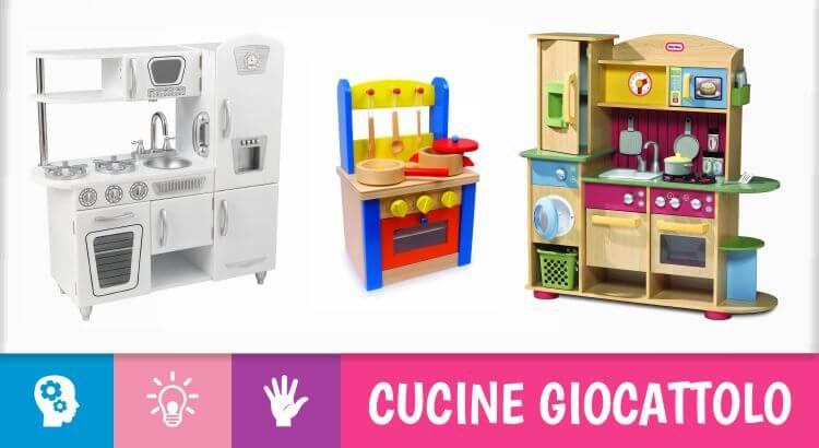 14 più belle cucine giocattolo per bambini