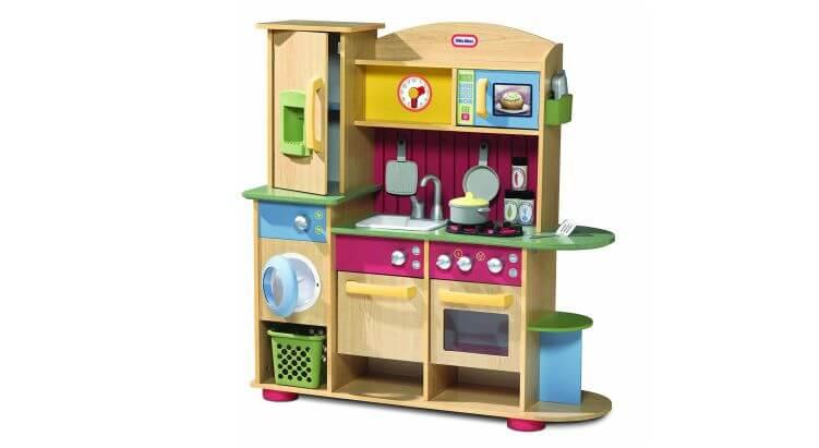b90dddd6340d96 Migliori cucine per bambini (in plastica e legno): Cucina in Legno Premium  di