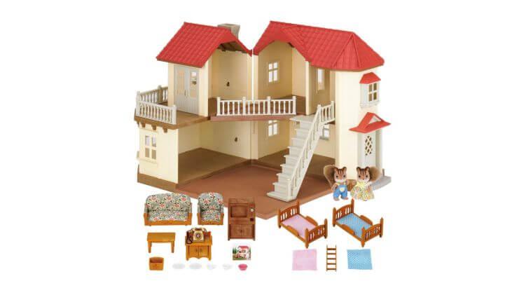 # 1 Casa delle bambole Beechwood Hall di Sylvanian Families