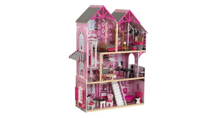 Migliori case delle bambole (in plastica e legno): Casa delle Bambole Bella di KidKraft