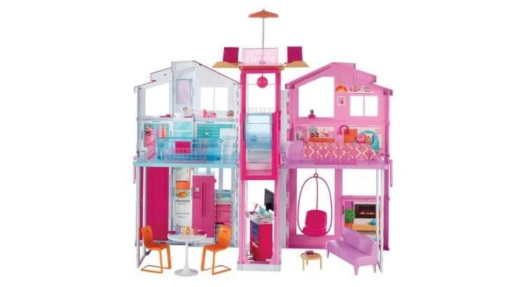 Migliori case delle bambole (in plastica e legno): Casa di Malibu di Barbie di Mattel