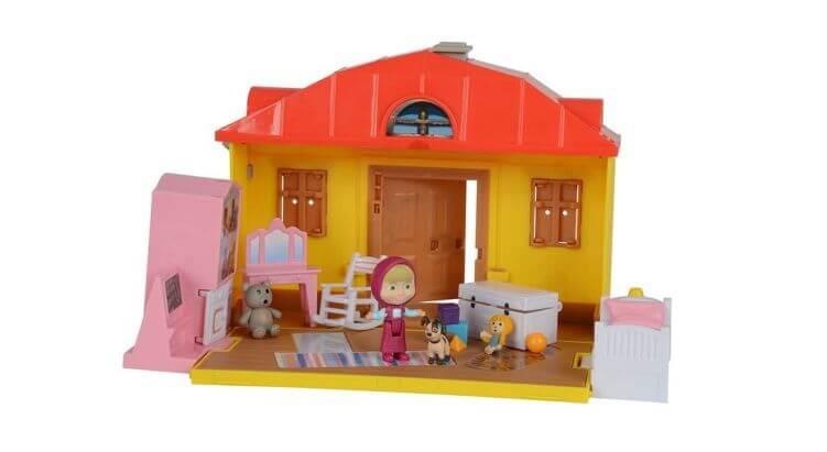 Migliori case delle bambole (in plastica e legno): Casa di Masha di Simba