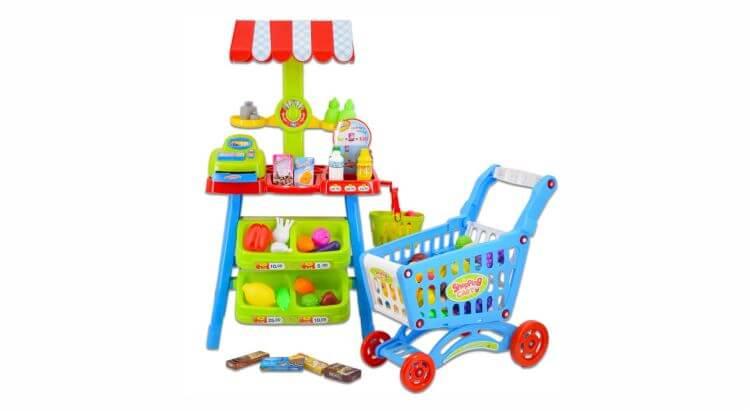 Migliori bancarelle giocattolo:Bancarella con carrello di deAO