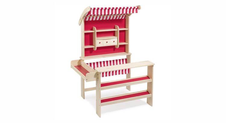 Migliori bancarelle giocattolo:Bancarella di legno di Howa