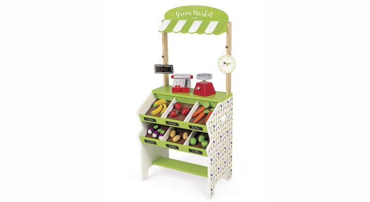 Migliori bancarelle giocattolo:Green Market di Janod