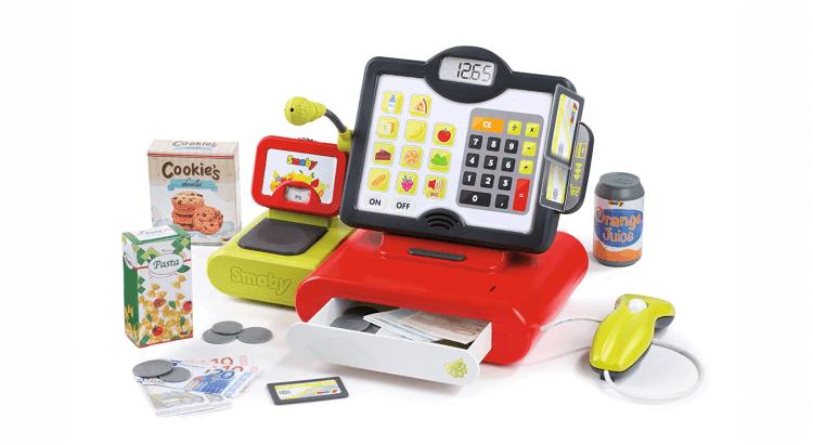 Migliori supermercati giocattolo:Registratore di Cassa Elettronico di Smoby