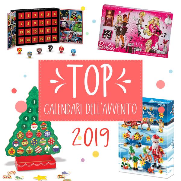 TOP calendari dell'avvento 2019 per bambini