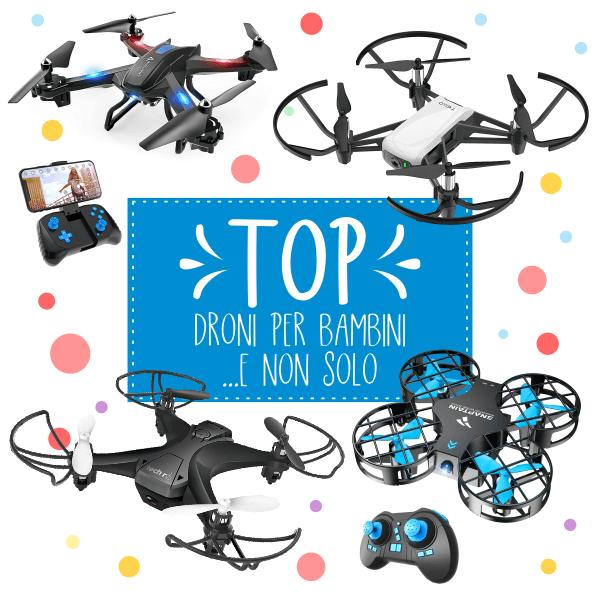 droni per bambini e ragazzi